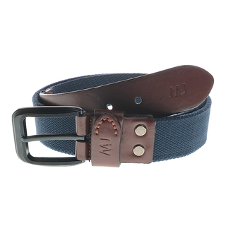 MJ BY MCJIM IMPORTED CANVAS BELT BENRB050-CVBS06 (BLUE)