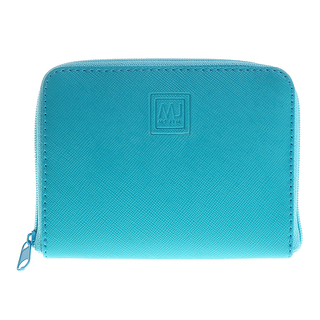Mj by McJim Man-Made Leather Wallet WLTF11-SRZ-23 (SKY BLUE)
