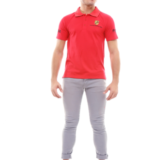 Porsche Polo Shirt (Red)