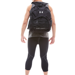 Underarmour Backpack with Shoe Compartment (Black)