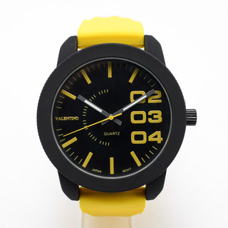 VALENTINO MEN'S ANALOG WATCH 20121751-YELLOW