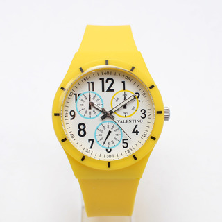 VALENTINO UNISEX'S ANALOG WATCH 20121734-YELLOW