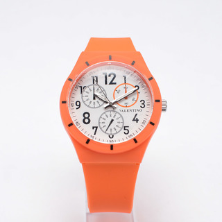 VALENTINO UNISEX'S ANALOG WATCH 20121734-ORANGE