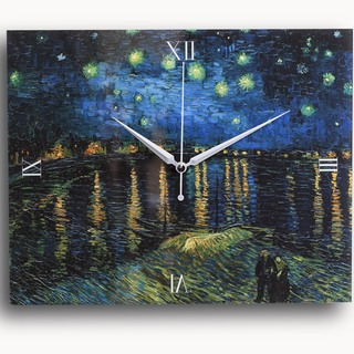 Starry Night over the Rhone (Clock03)