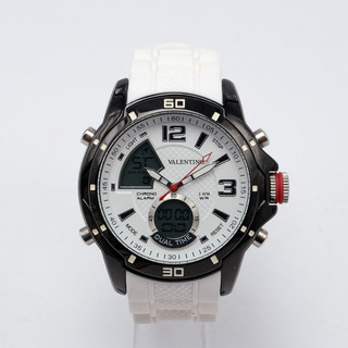 VALENTINO MEN'S DIGITAL-ANALOG WATCH 20121785-WHITE