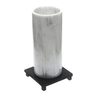 Marmol Stonework Cylindrical Marble Vase Green Onyx (MBVCY-G0)