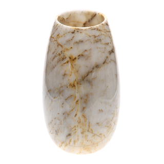 Marmol Stonework Marble Vase with Wide Round Bottom Century (MBVTV-C)