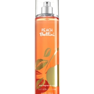 BATH AND BODY WORKS FRAGRANCE MIST PEACH BELLINI 236 ML