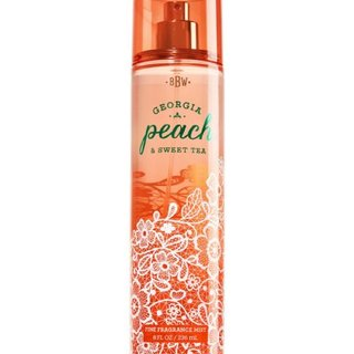 BATH AND BODY WORKS GEORGIA PEACH AND SWEET TEA 236 ML