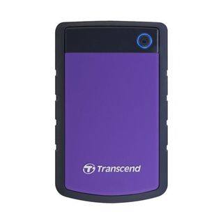 Transcend - StoreJet 25H3 External Hard Drive - 1TB (Purple) by Digitally Yours
