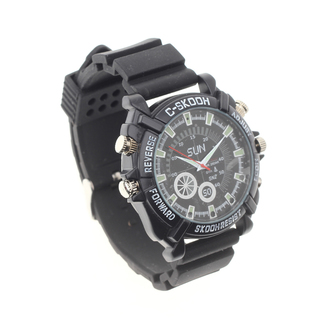8GB Full HD 1080p Water Resistant Camera Watch with Night Vision