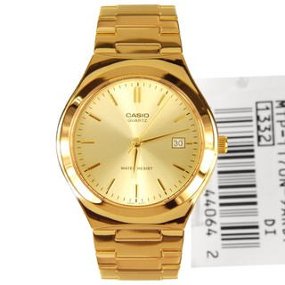 Casio Mens Watch GOLD DIAL MTP-1170N-9ARDF 1332