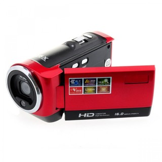 16MP HD Digital Camera Video Recorder (Red)