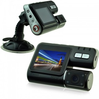 Dual Camera Car DVR With 1 Remote Camera