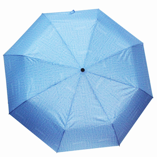 Denim Manual Foldable Umbrella
