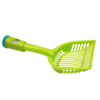 Petpals Pet Dog Cleaning Waste Dust Pan (Green) with Plastic Waste Roll Refill