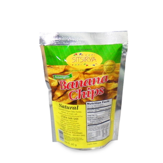 Sitsirya Batangas Banana Chips Natural pouch (4806526700938) - (In Packs of 3)