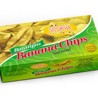 Sitsirya Batangas Banana Chips Natural box (4806526700945)