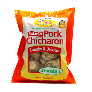Sitsirya Bulacan Chicharon Balat big Plain (4806526700266) - (In Packs of 2)
