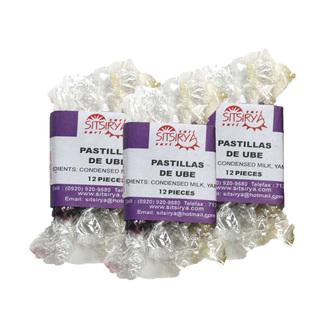 Sitsirya Bulacan Pastillas de Ube Sticks (4806526700655) - (In Packs of 3)
