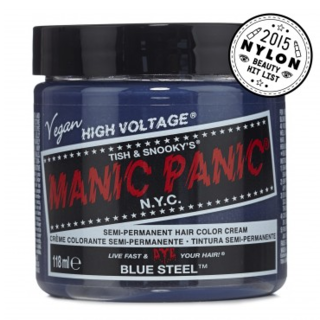 Manic Panic Classic Blue Steel 4 fl.oz. (118 ml) (MPC-BSTL)