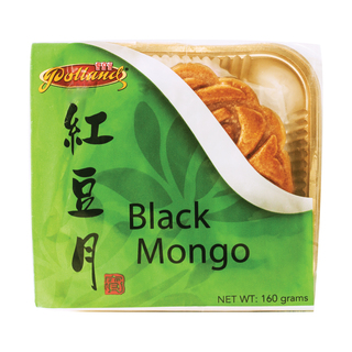 BLACK MONGO MOONCAKE WITH 1 EGG