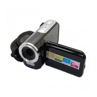1.5 Inch LCD Cybercam Mini Dv Camcorder 16mp 8x Zoom - Black