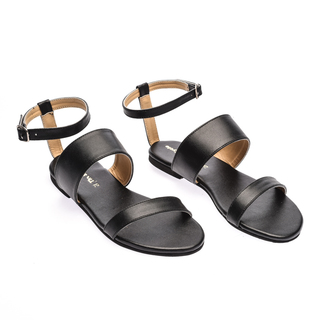 The Shoe Cycle Char Sandals - Black (CHAR 001)
