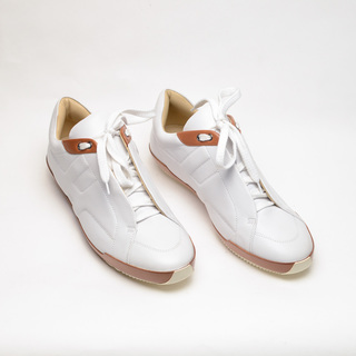 Hermes  Rubber Shoes  (White)