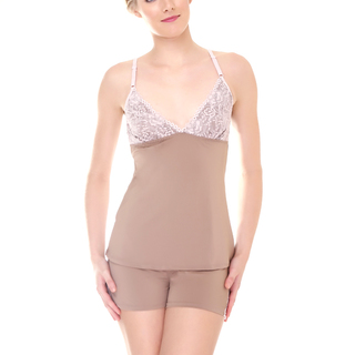 Barbizon Aubri Cami Set (Mauve - 0015)