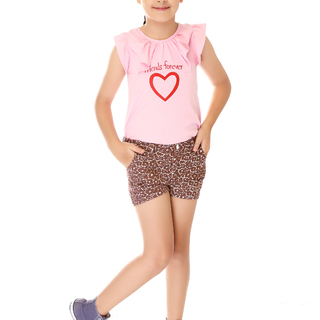 BASICS FOR KIDS GIRLS SHORT - BROWN (G502286 - G502296)