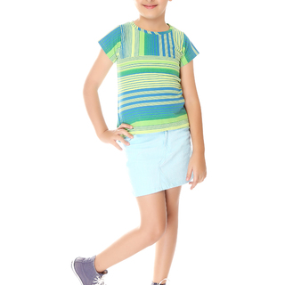 BASICS FOR KIDS GIRLS BLOUSE - GREEN (G307147 - G307157)