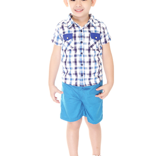 BASICS FOR KIDS BOYS POLO - BLUE (B308675 - B308685)