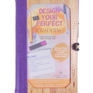 J&L Pinto Mini Journal/Passport Sleeve (Amethyst Violet)