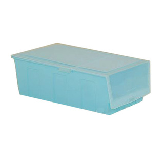 Hard Plastic Shoe Box - Blue