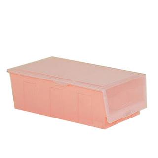Hard Plastic Shoe Box - Pink