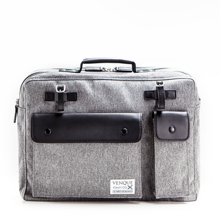 Venque Milano (Grey Black Leather)