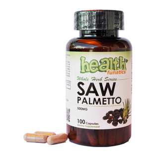 Health Funatics Saw Palmetto 500mg 100 Capsules (PVL-15003)
