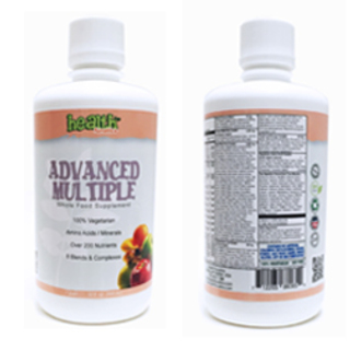Health Funatics Complete Advanced Multiple Liquid Vitamins 32 fl. oz. (PMN-00073)