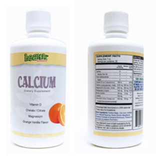 Health Funatics Calcium and Magnesium Liquid Supplement 32 fl. oz. (PMN-00051)