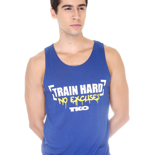 Tko Train Hard No Excuses Tank Top Shirt