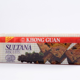 2 Bundles of Khong Guan Sultana Raisin-Filled Biscuits 160 g pack (SUL-160G)