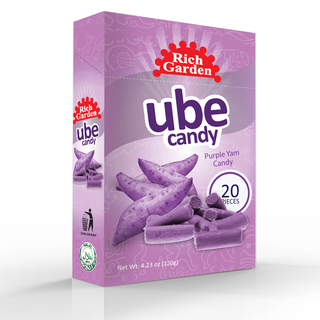 3 Bundles of Rich Garden Ube Candy (UC-20PCSBOX)