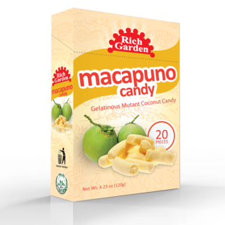 3 Bundles of Rich Garden Macapuno Candy (MC-20PCSBOX)