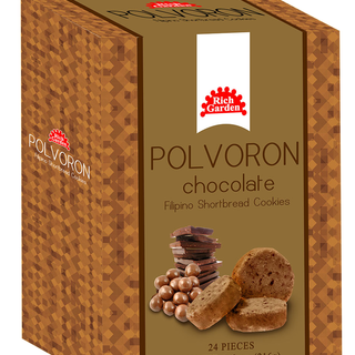 2 Bundles of Rich Garden Chocolate Polvoron (PC-24PCS-CHOCO)