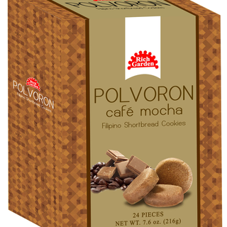 2 Bundles of Rich Garden  Café Mocha Polvoron (PC-24PCS-COFEMOCHA)