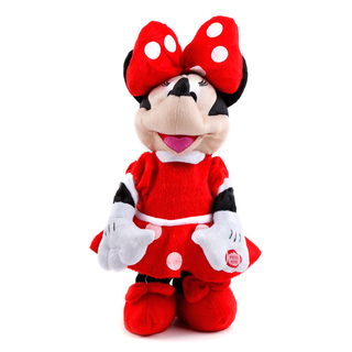 Dancing Minnie Mouse Stuffed Toys (Red) WH00003634