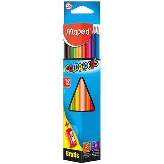 Maped Color'Peps Coloured Pencils 12's (12M-832130)