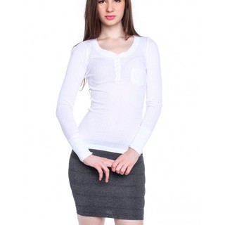 DUTCH AND HARLEY LONG SLEEVE SHIRT AYI130741170 (WHITE)
