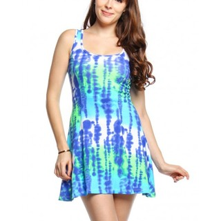 FOREVER 21 SLEEVELESS DRESS SHP44998 (BLUE)